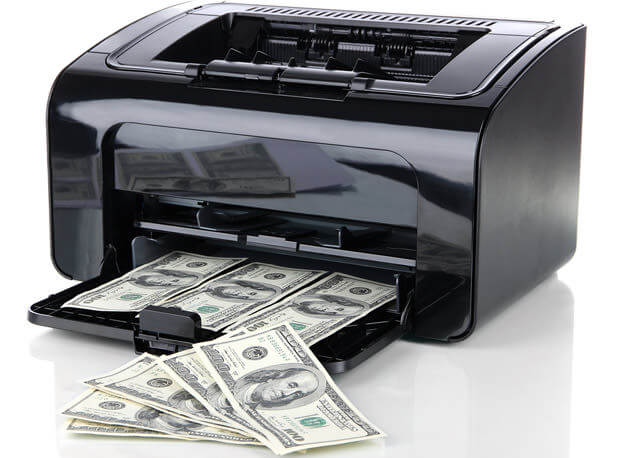 bigstock-Printer-printing-fake-dollar-b-43111228