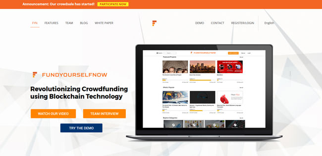 FundYourselfNow Homepage